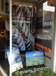 My photos in Gallery 52's storefront in Rye, NY